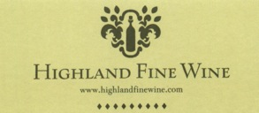 Highland Fine Wine Working Logo